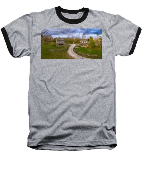 Log Cabins Baseball T-Shirt