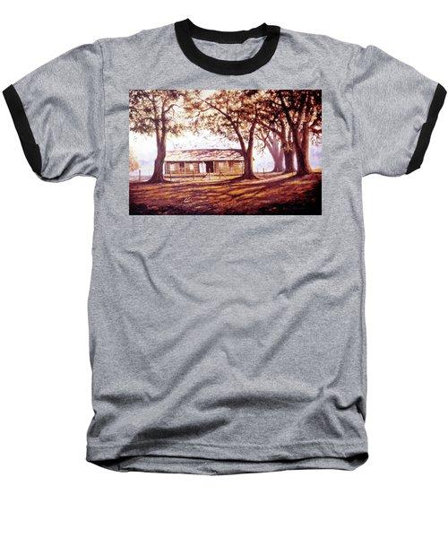 Log House On 421 Baseball T-Shirt