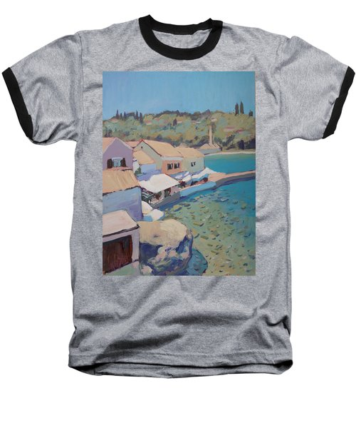 Loggos Pier View Baseball T-Shirt