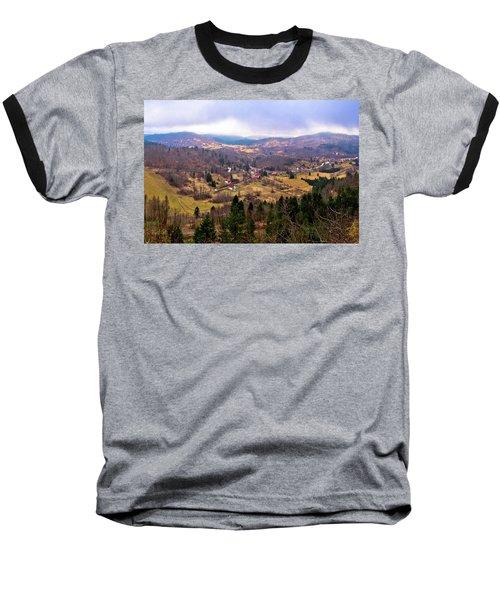 Lokve Valley In Gorski Kotar View Baseball T-Shirt