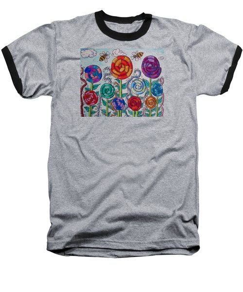 Lollipop Garden Baseball T-Shirt