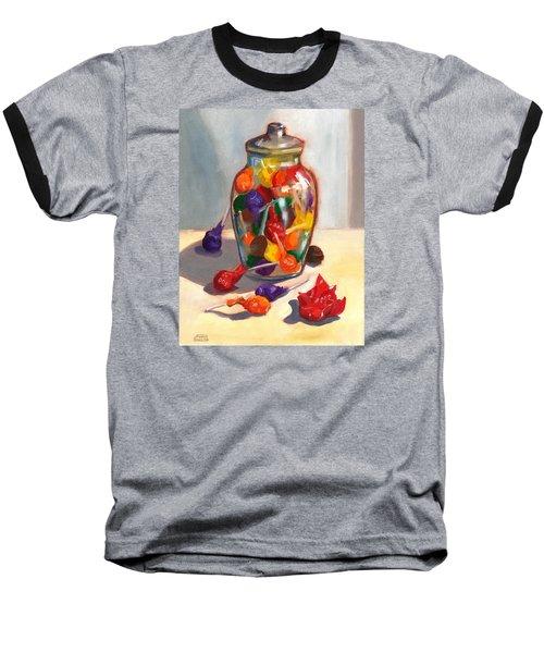 Lollipops Baseball T-Shirt by Susan Thomas