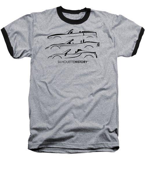 Lombard Roadster Silhouettehistory Baseball T-Shirt