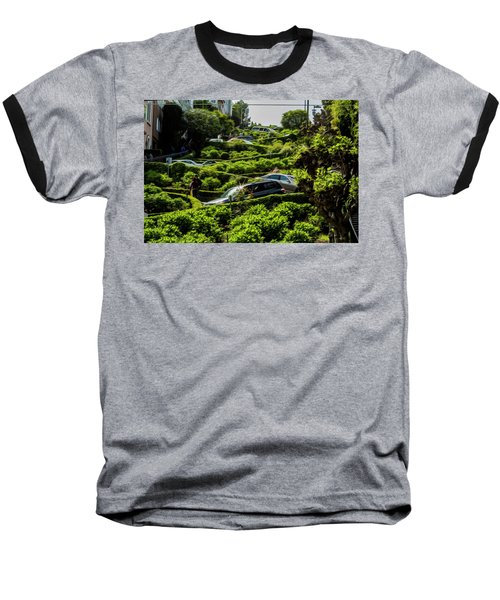 Lombard Street Baseball T-Shirt