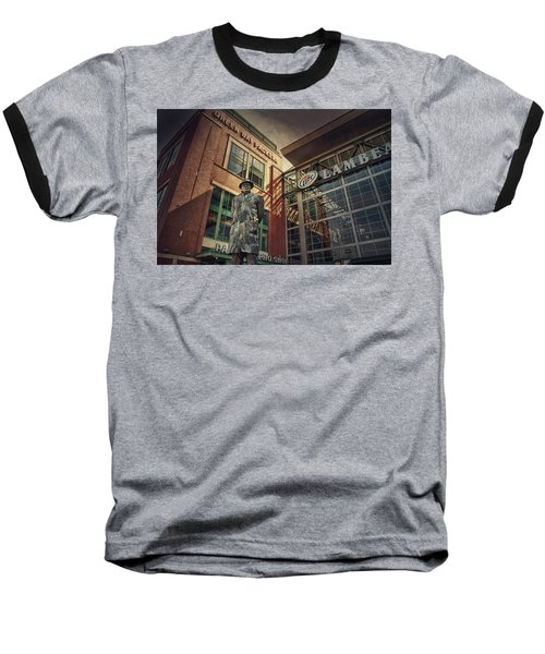 Lombardi Time Baseball T-Shirt by Joel Witmeyer