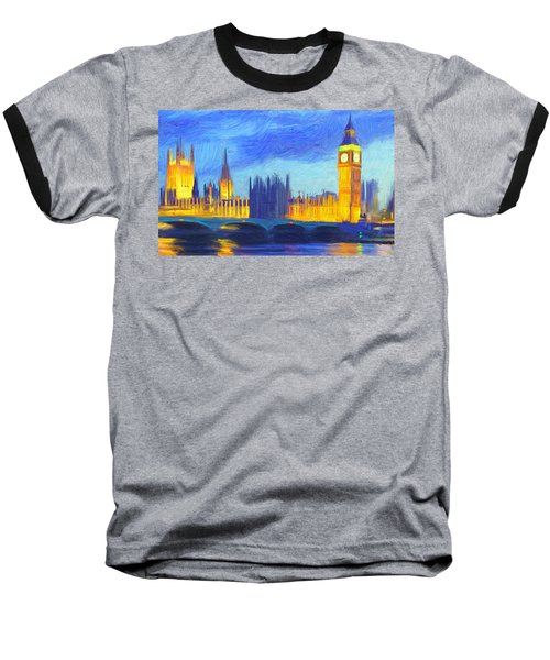 London 1 Baseball T-Shirt