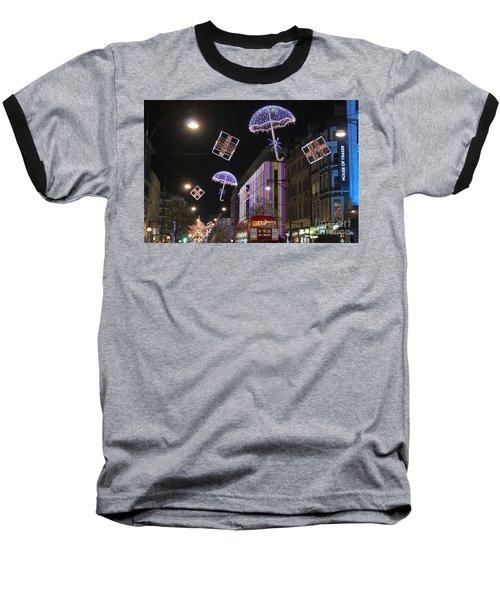 London At Christmas Baseball T-Shirt