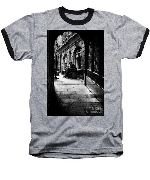 London Backstreet Alley Baseball T-Shirt