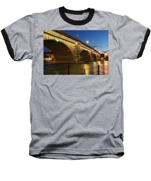 Twilight Reflections Baseball T-Shirt