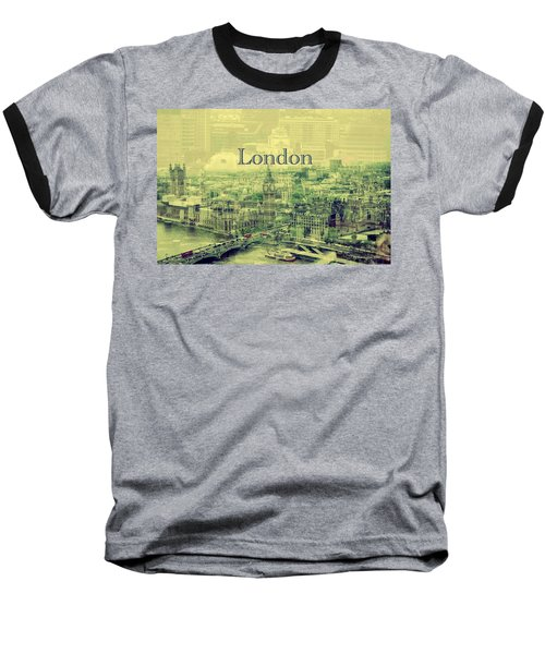 London Calling You Back Baseball T-Shirt by Karen McKenzie McAdoo