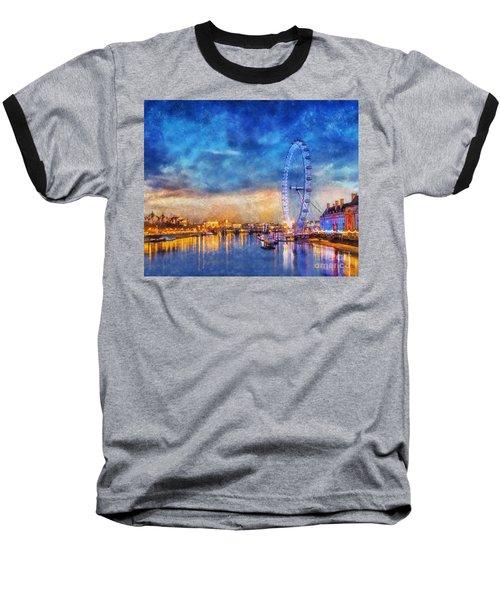 London Eye Baseball T-Shirt