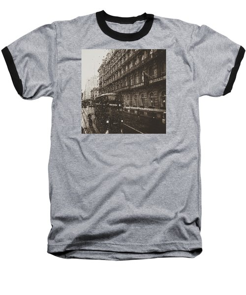 London Rain Baseball T-Shirt