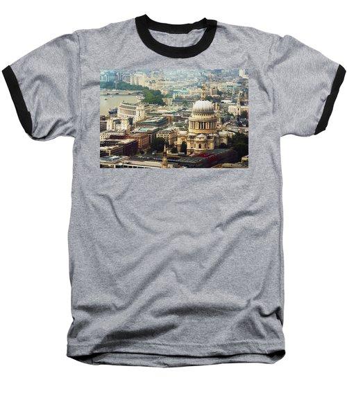 London Rooftops Baseball T-Shirt