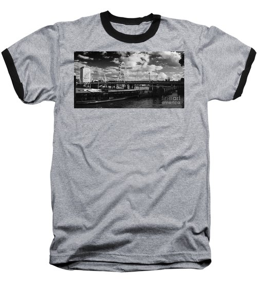 London S Skyline Baseball T-Shirt