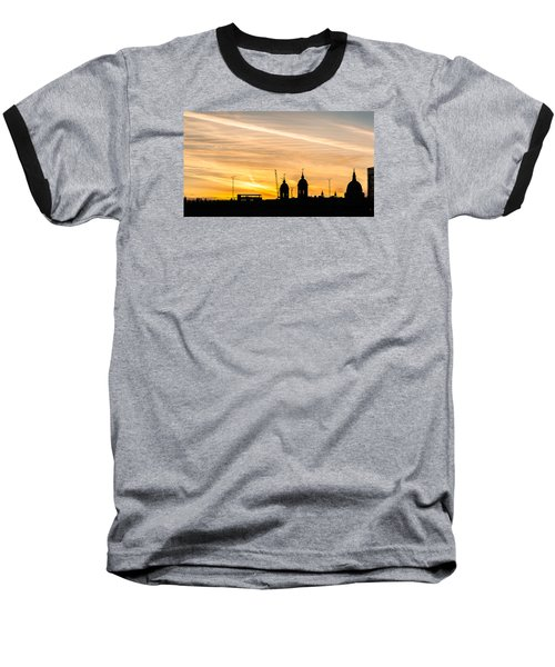 London Silhouette Baseball T-Shirt