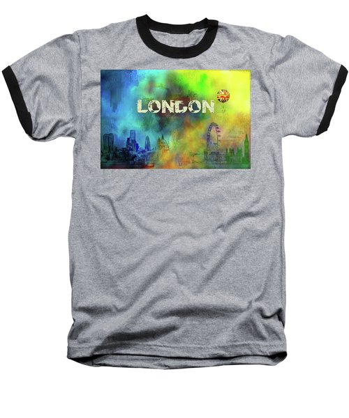 London - Skyline Baseball T-Shirt