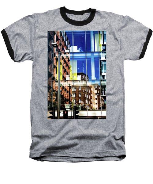 London Southwark Architecture 2 Baseball T-Shirt by Judi Saunders