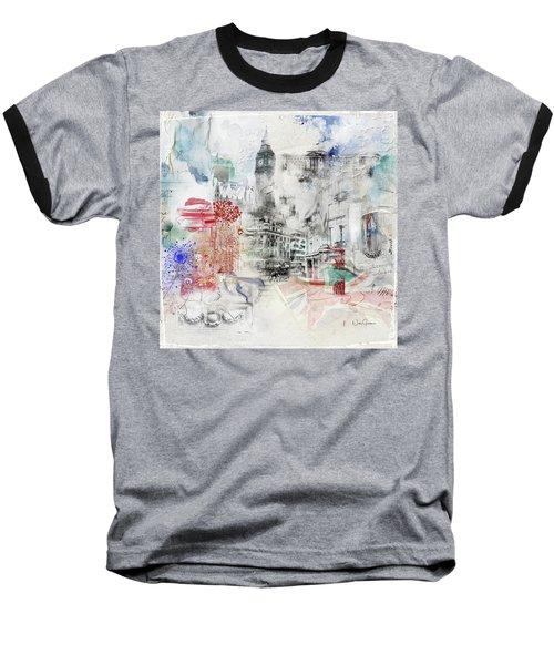 London Study Baseball T-Shirt by Nicky Jameson