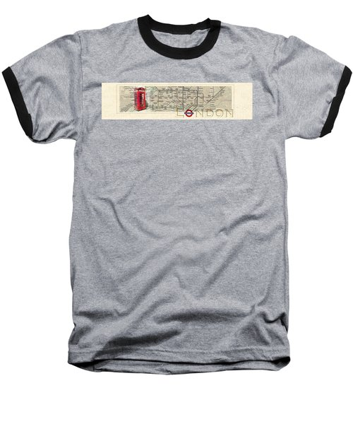 London Underground Baseball T-Shirt