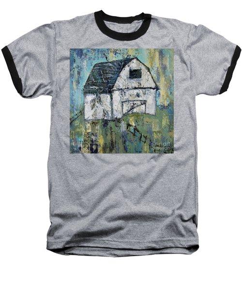 Lone Barn Baseball T-Shirt by Kirsten Reed