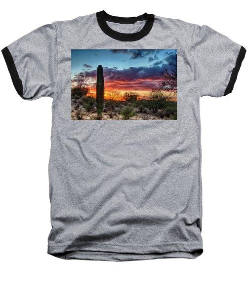 Lone Cactus Baseball T-Shirt