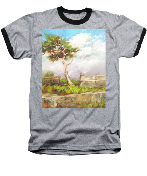 Lone Cedar Baseball T-Shirt by Mary Hubley