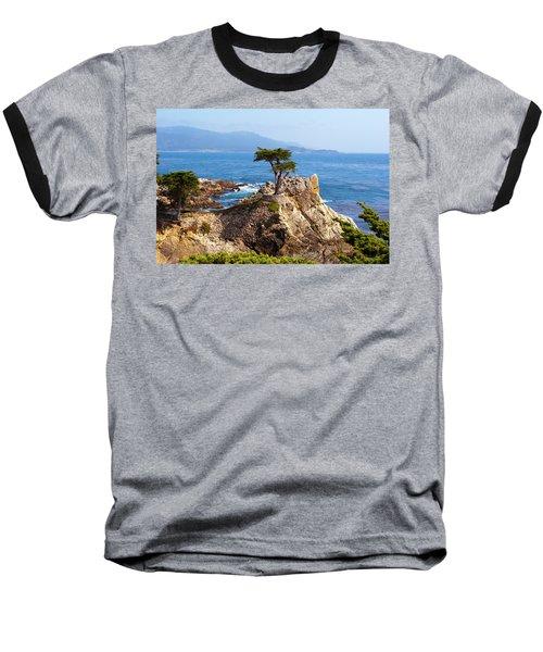 Lone Cypress Baseball T-Shirt by Lou Ford