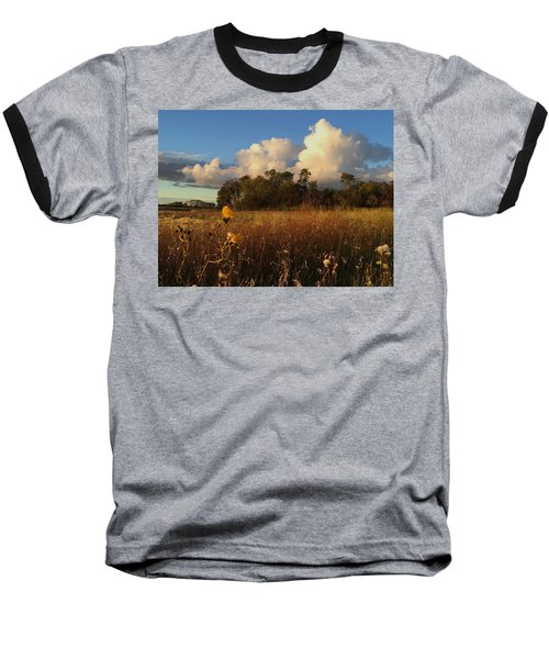 Lone Flower Baseball T-Shirt