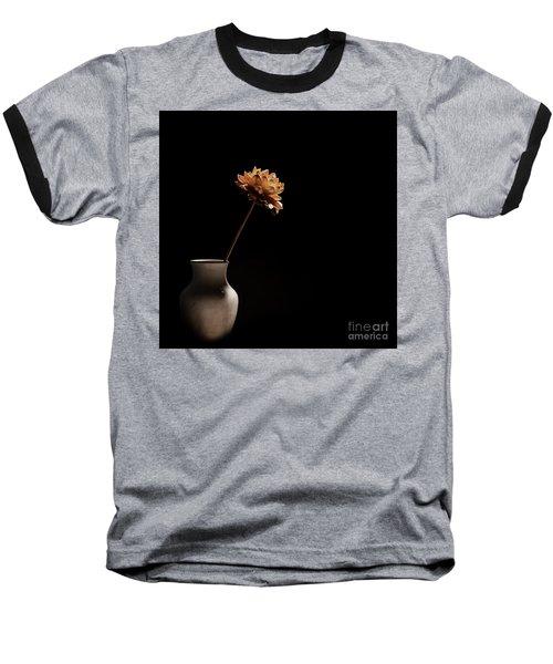 Lone Flower Baseball T-Shirt