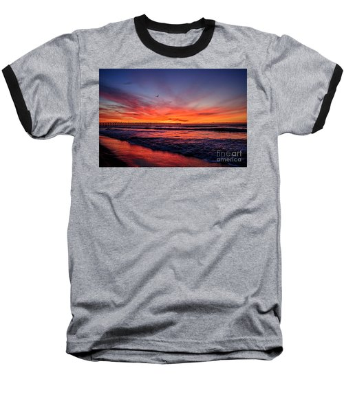 Lone Gull Baseball T-Shirt