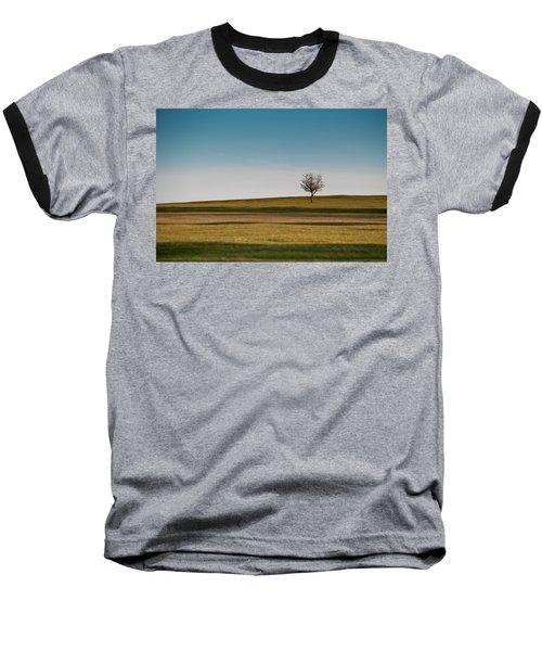 Lone Hawthorn Tree II Baseball T-Shirt