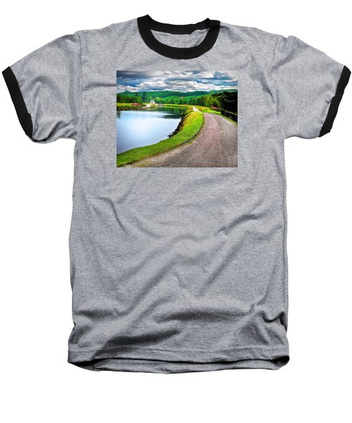 Lone Highland Farm Baseball T-Shirt
