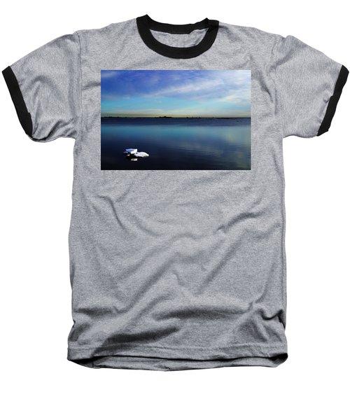 Lone Ice Baseball T-Shirt by Anthony Jones