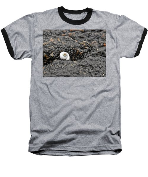 Lone Seashell Baseball T-Shirt