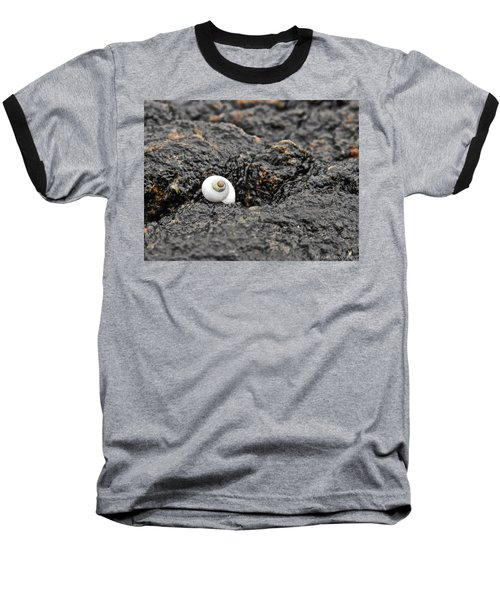 Lone Seashell Baseball T-Shirt