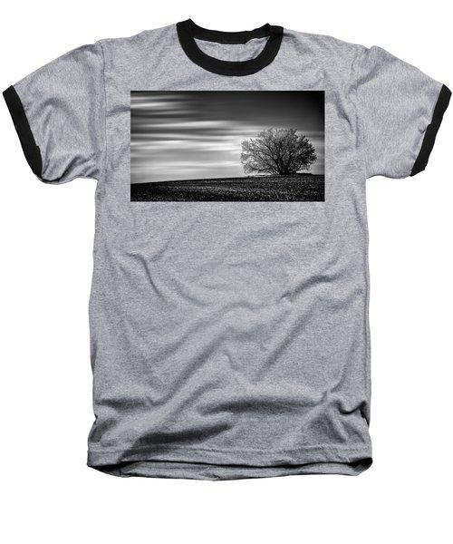 Baseball T-Shirt featuring the photograph Lone Tree by Dan Jurak