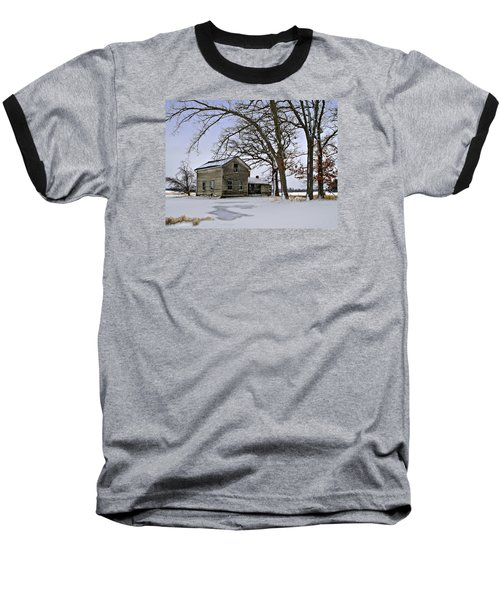 Baseball T-Shirt featuring the photograph Lonely And Abandoned by Judy Johnson