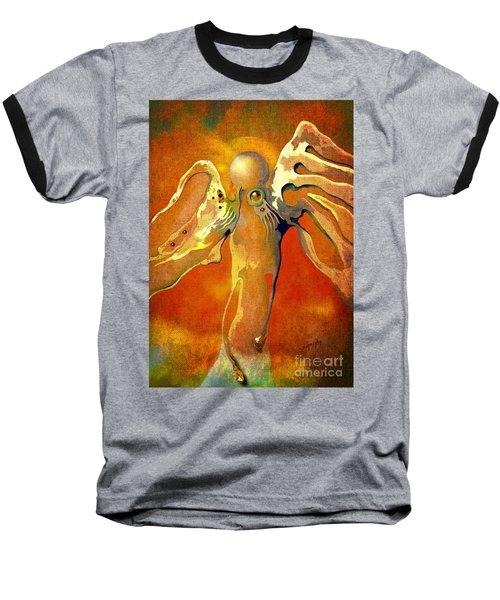 Lonely Angel Baseball T-Shirt by Alexa Szlavics