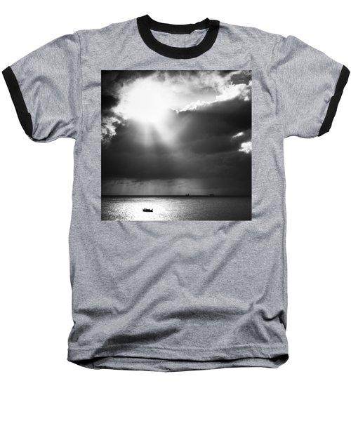 Lonely At Sea Baseball T-Shirt