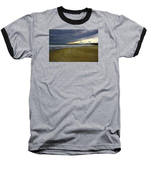 Lonely Beach Baseball T-Shirt