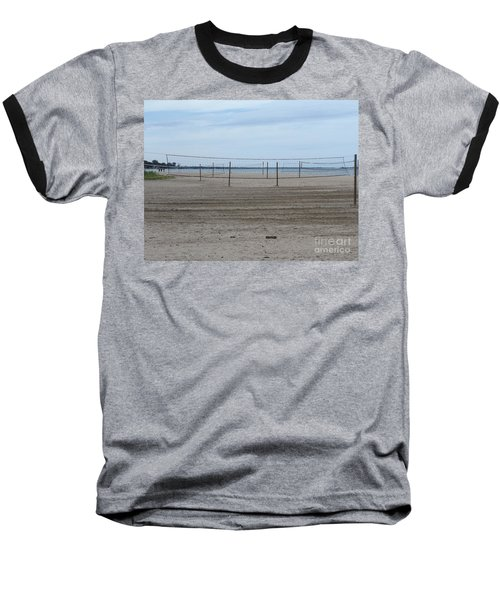 Lonely Beach Volleyball Baseball T-Shirt