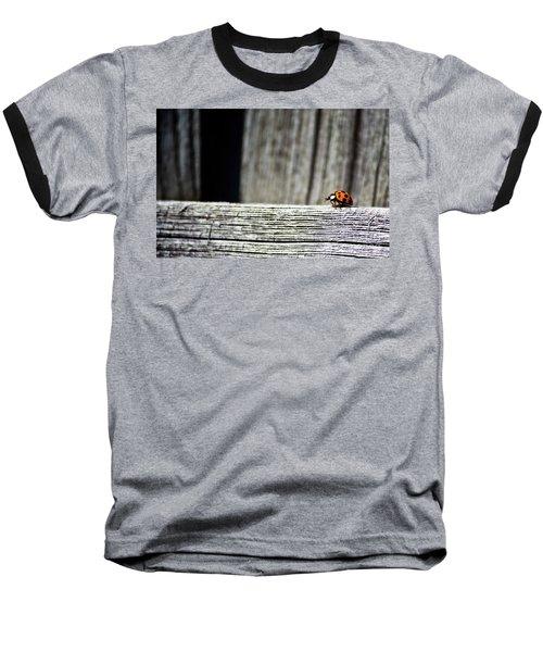 Lonely Ladybug Baseball T-Shirt