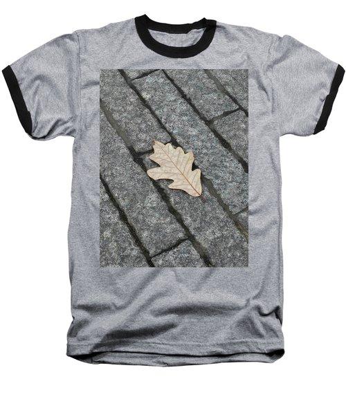 Lonely Leaf Baseball T-Shirt