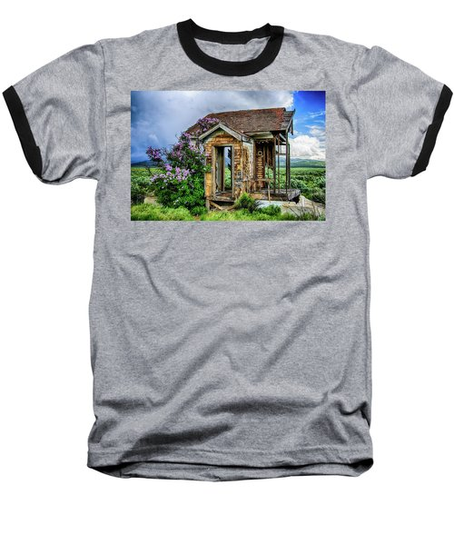 Lonely Lilacs Baseball T-Shirt