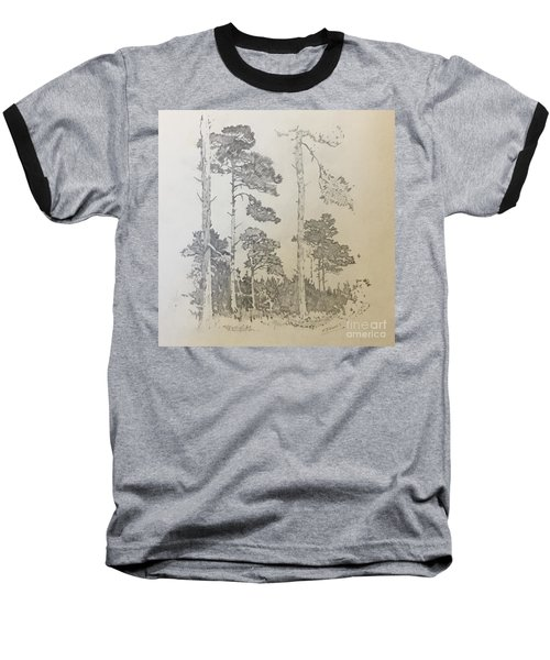 Lonely Pines Baseball T-Shirt