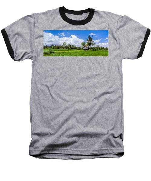 Lonely Rice Hut Baseball T-Shirt