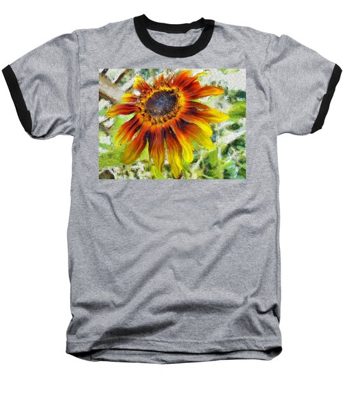 Lonely Sunflower Baseball T-Shirt