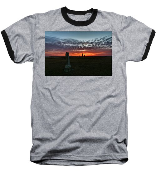 Lonely Sunset Baseball T-Shirt