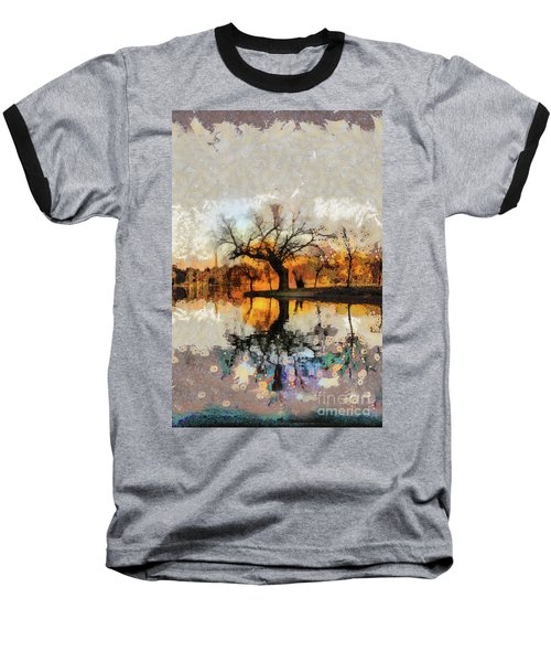 Lonely Tree And Its Thoughts Baseball T-Shirt
