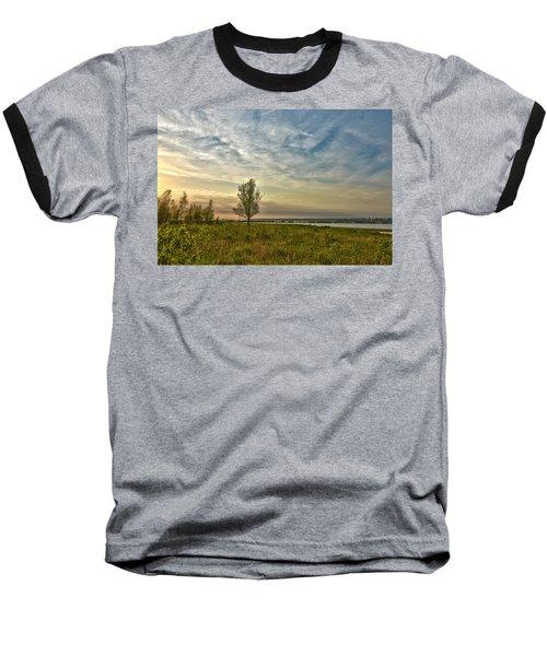 Lonely Tree In Dintelse Gorzen Baseball T-Shirt
